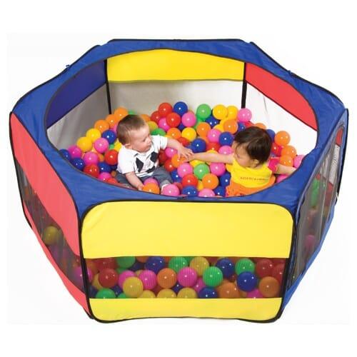 Ballbinge i nylon diameter 160 cm h yde 60 cm bigshop for Piscina de bolas toysrus
