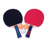 2 stk bordtennisrackert m/3 baller